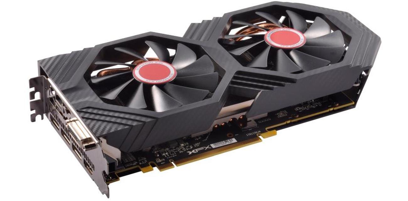 Karta graficzna XFX Radeon RX 580 GTS XXX Wydajny radiator