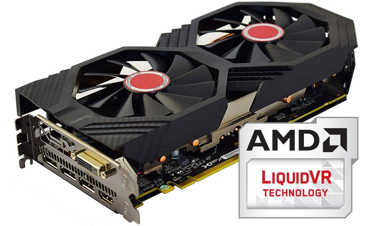 XFX Radeon RX 590 Fatboy OC+ Technologia AMD LiquidVR