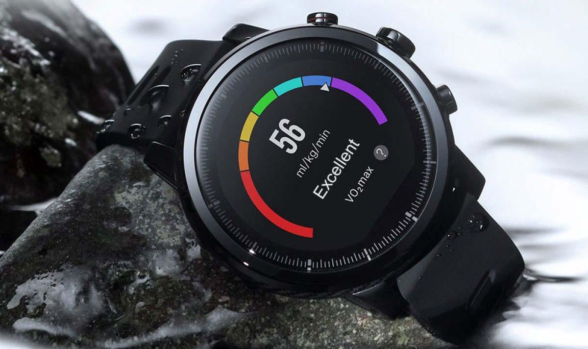 Xiaomi Amazfit stratos Plus czujnik przyspieszenia pulsometr barometr krokomierz