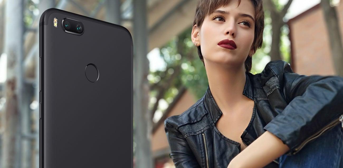 Xiaomi Mi A1 podwójna kamera z teleobiektywem