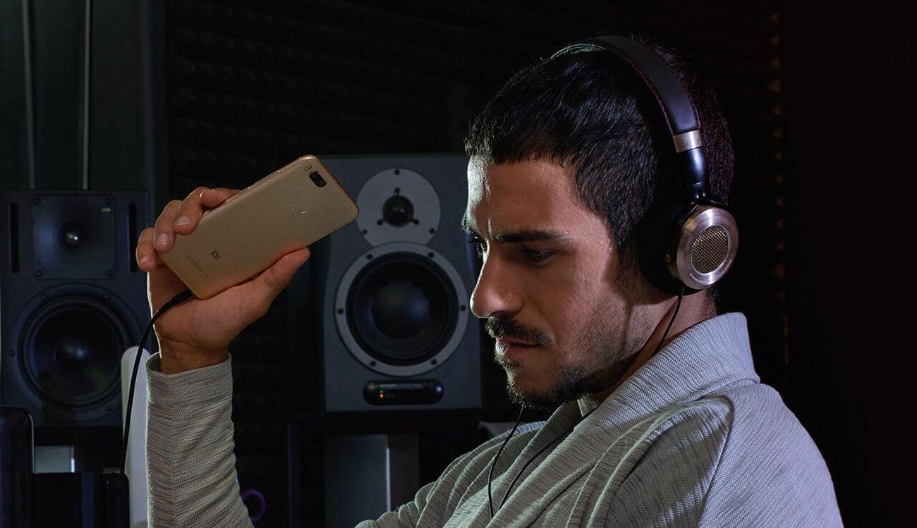 Xiaomi Mi A1 wzmacniacz audio