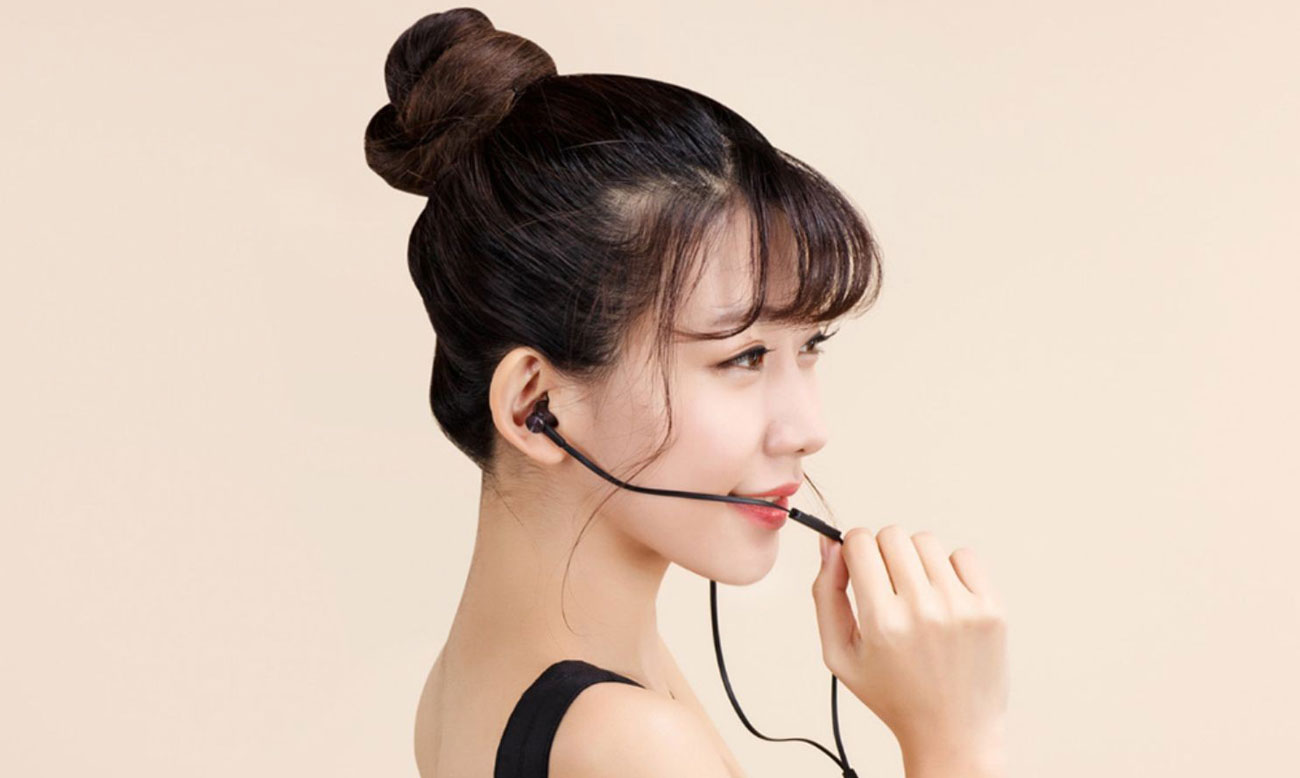 Xiaomi mi in-ear Basic kabel z TPE pilot mikrofon