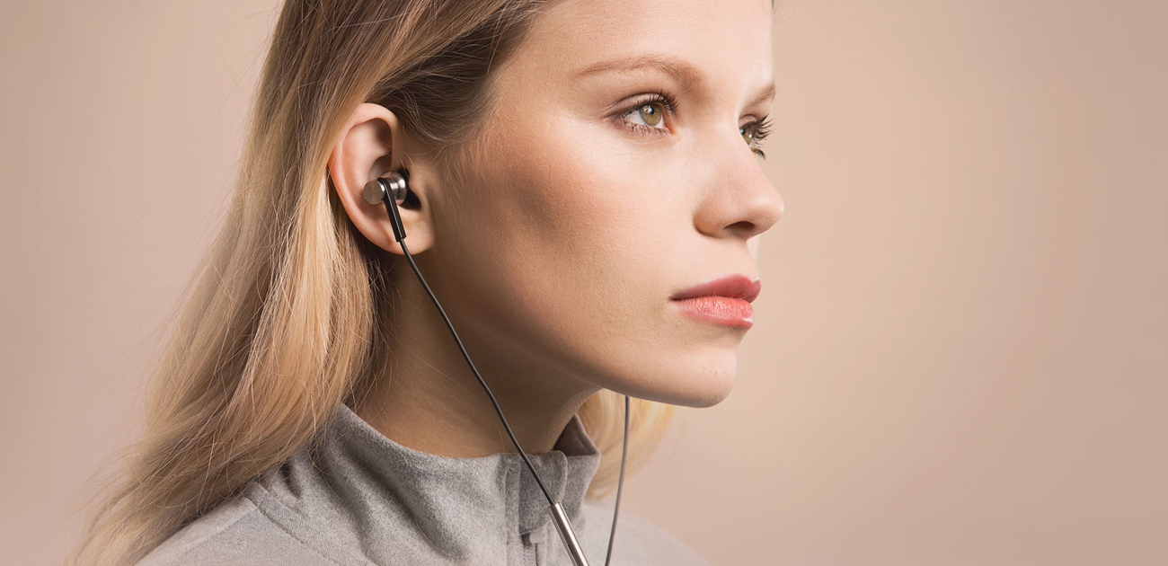 Słuchawki douszne Xiaomi mi in-ear opatentowany sterownik