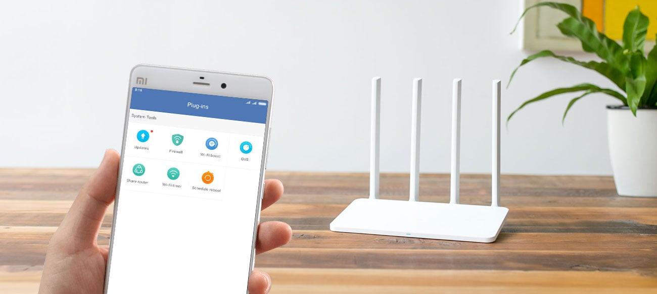 Xiaomi Mi Router 3C Apliakcja Mi Wi-Fi