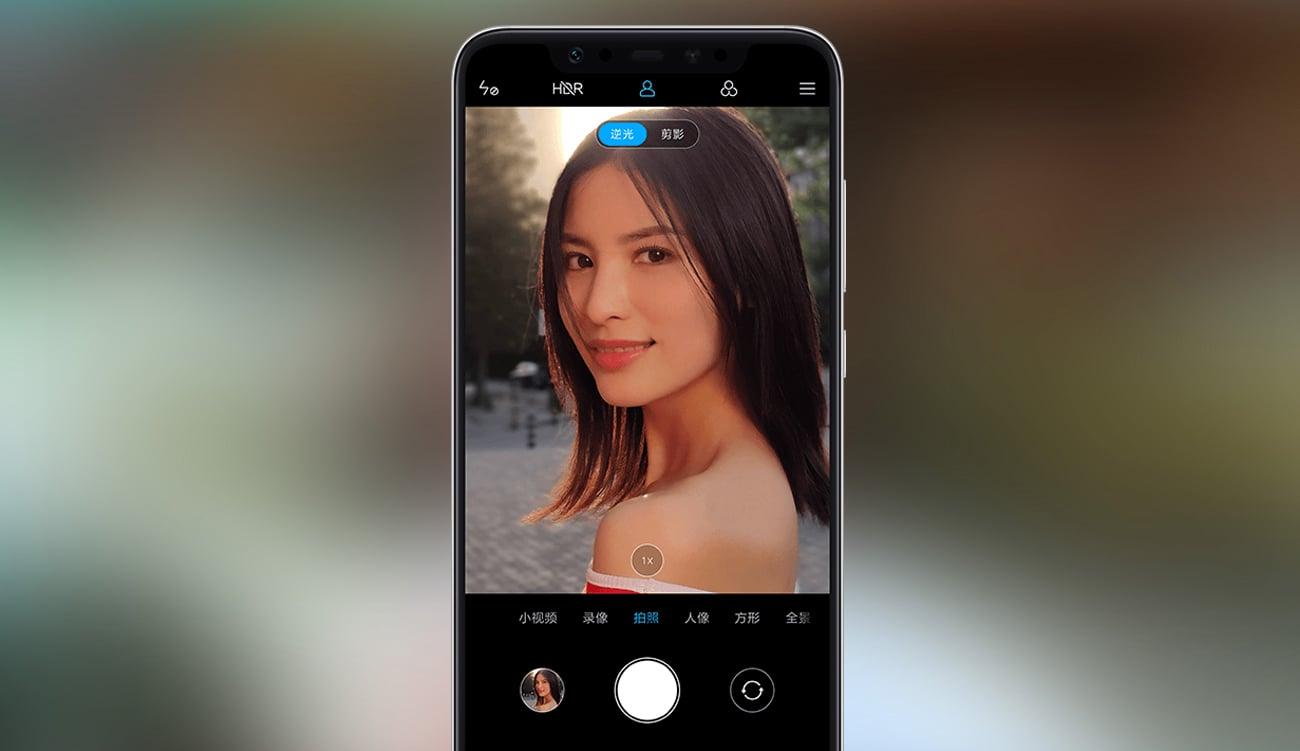 Xiaomi Mi 8 aparat selfie beautify