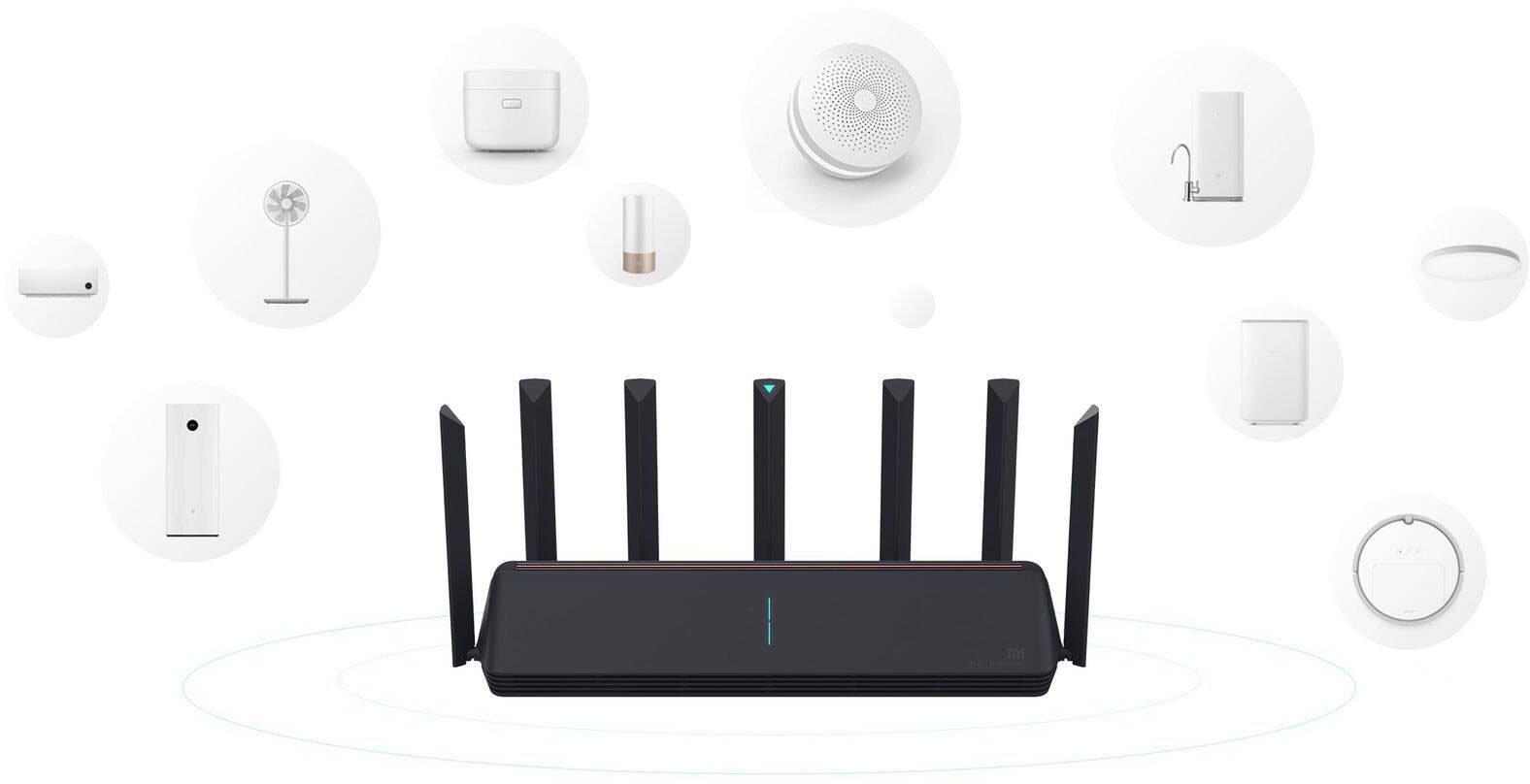 Xiaomi Mi AIoT Router AX3600 - Obsługa wielu urządzeń