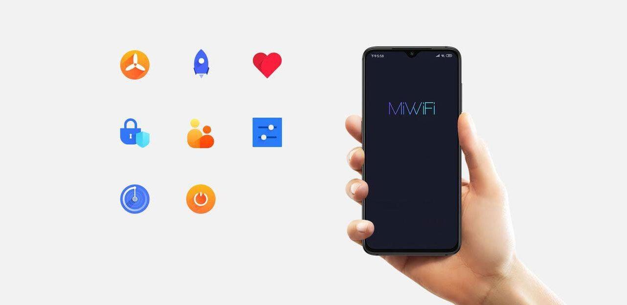 Aplikacja mobilna Xiaomi WiFi 5.0