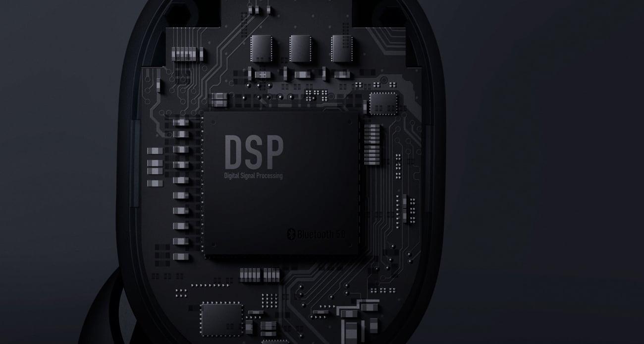 Xiaomi Mi AirDots dźwięk DSP membrany 7.5mm