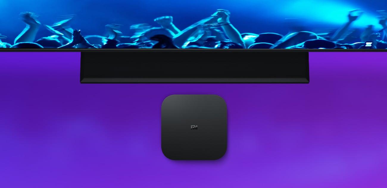 Xiaomi Mi Box S 4K strumieniowanie obrazu 4K HDR 60 fps dolby