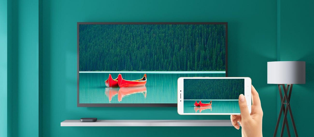 Xiaomi Mi Box S 4K rzutowanie ekranu chromecast smartcast