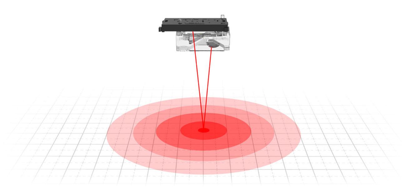 Mi Portable Mouse Szybkie i precyzyjne pozycjonowanie lasera Błyskawiczne przesuwanie