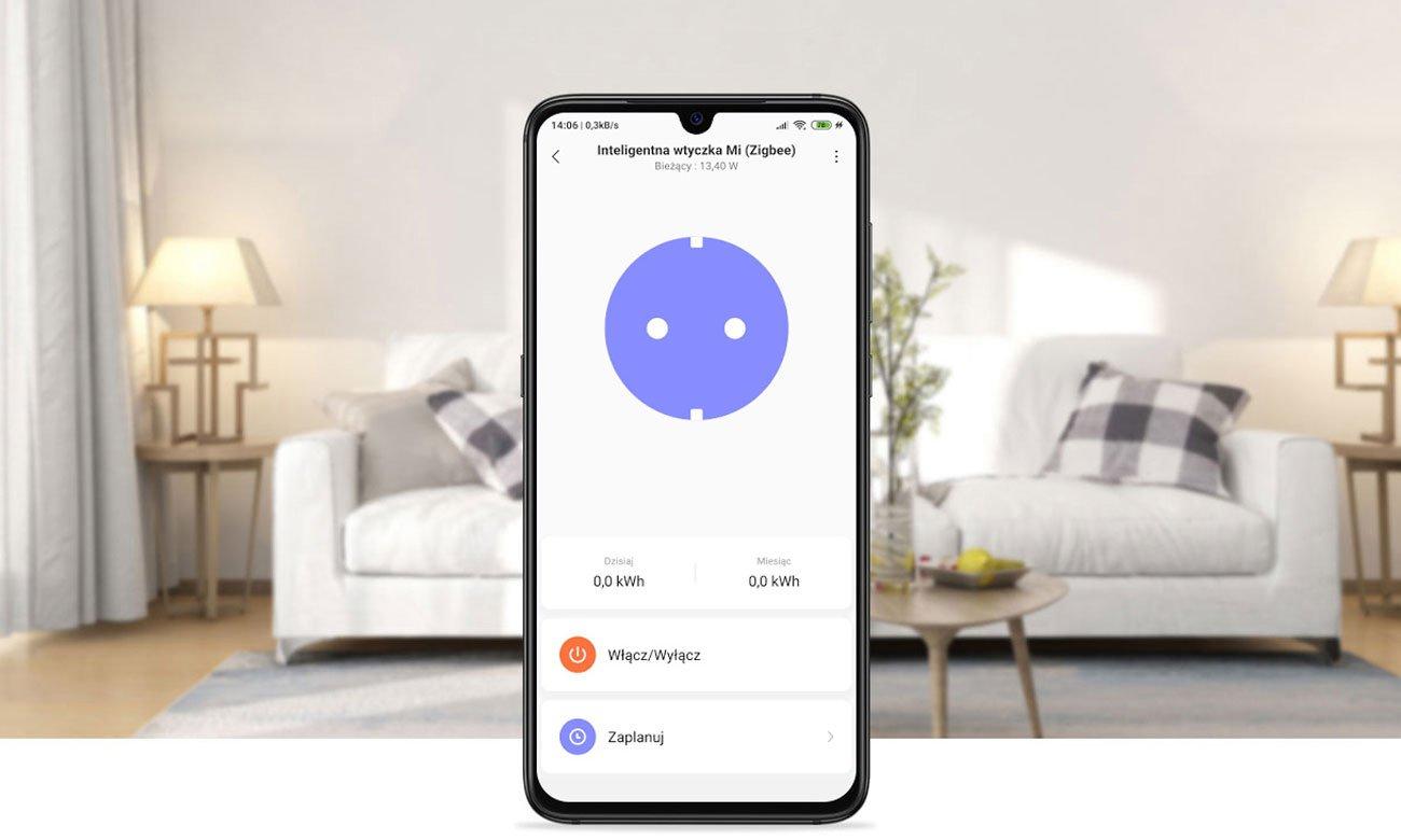 Xiaomi Mi Smart Power Plug - Aplikacja