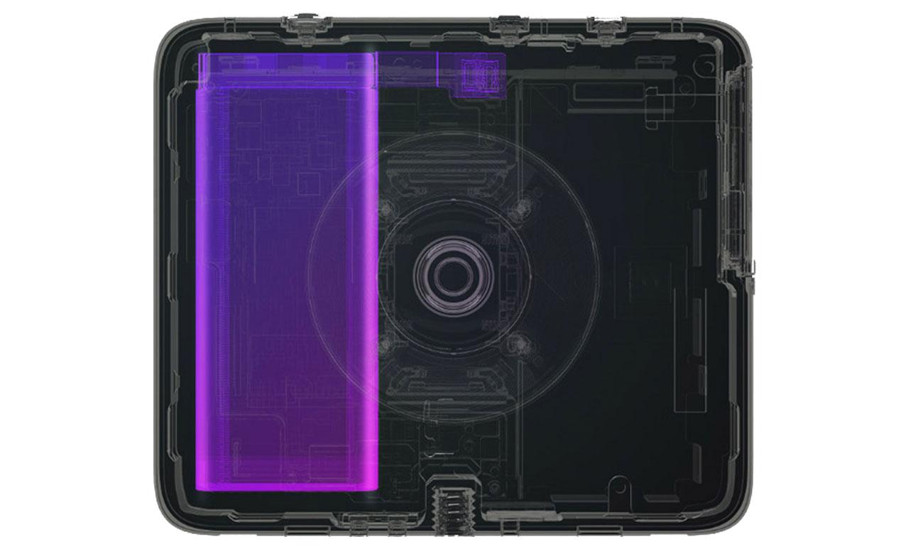 Używaj kamery przez długi czas między ładowaniami