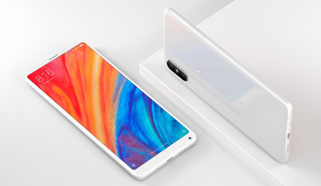Xiaomi Mi Mix 2S elegancki minimalistyczny design rewolucyjny ekran