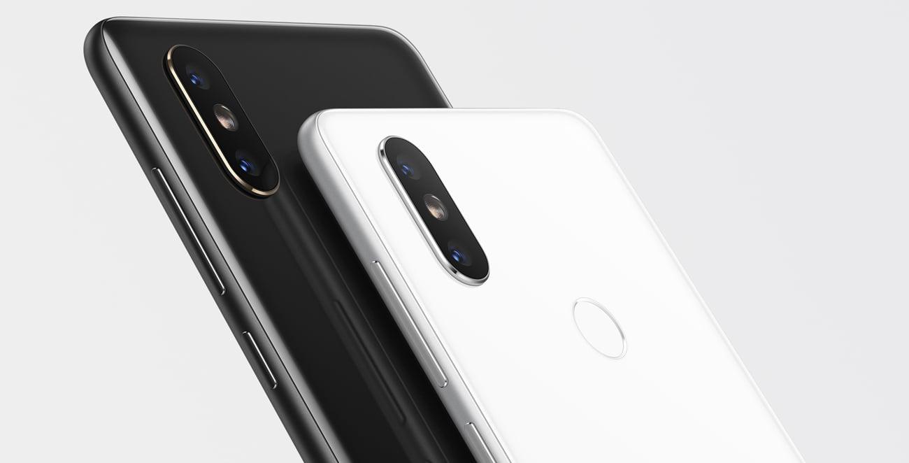Xiaomi Mi Mix 2S podwójny aparat 12 Mpix f/1.8