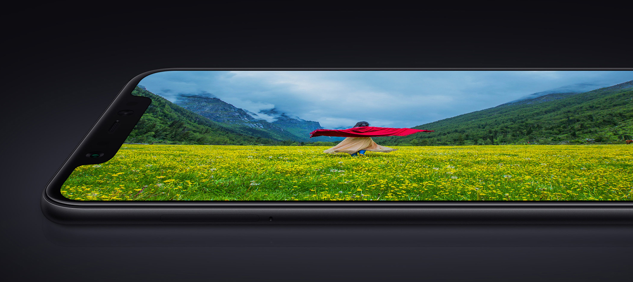 Xiaomi Mi 8 bezramkowy ekran super AMOLED