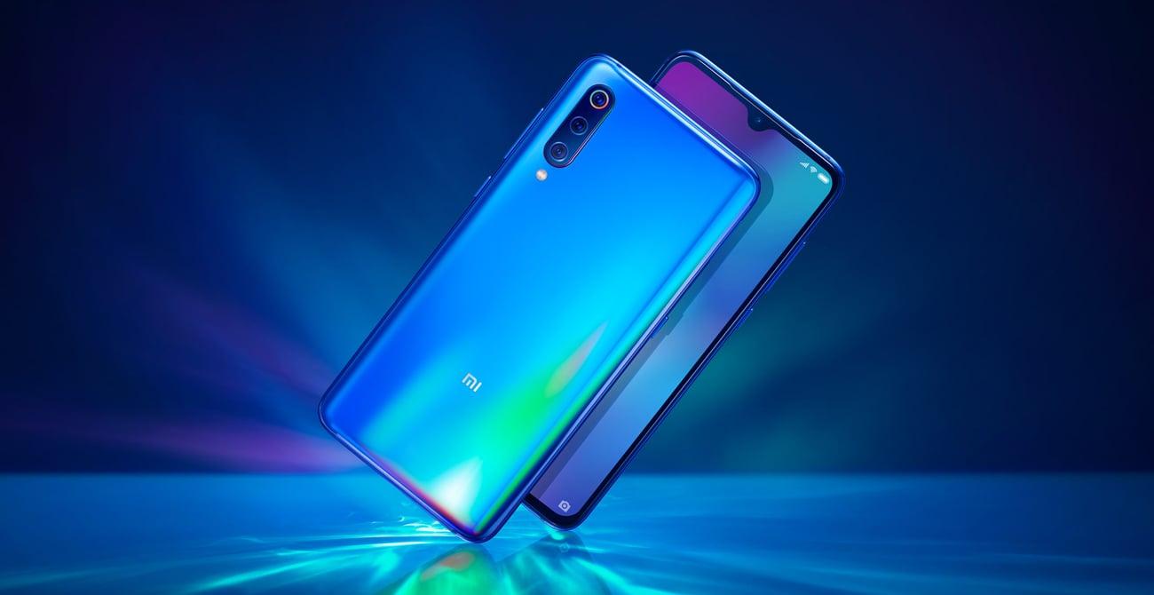 Xiaomi Mi 9 holograficzne szkło smukły design