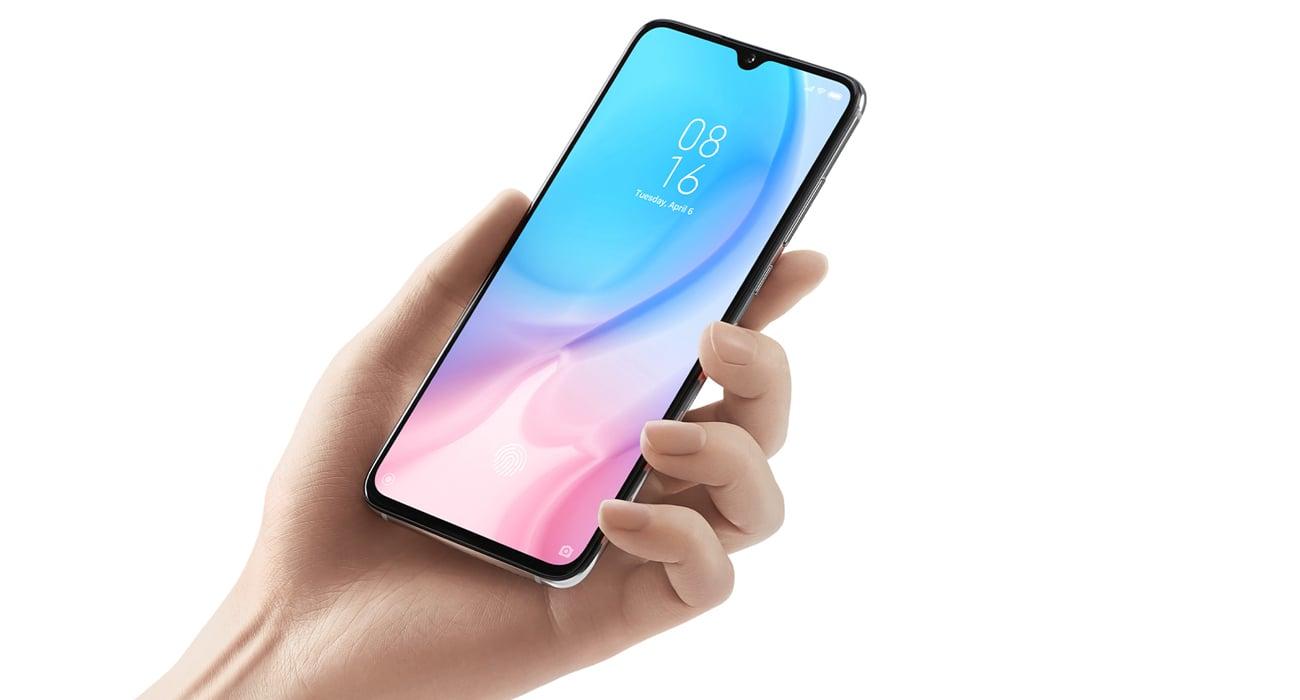Xiaomi Mi 9 lite ekran amoled z czytnikiem linii papialarnych always on