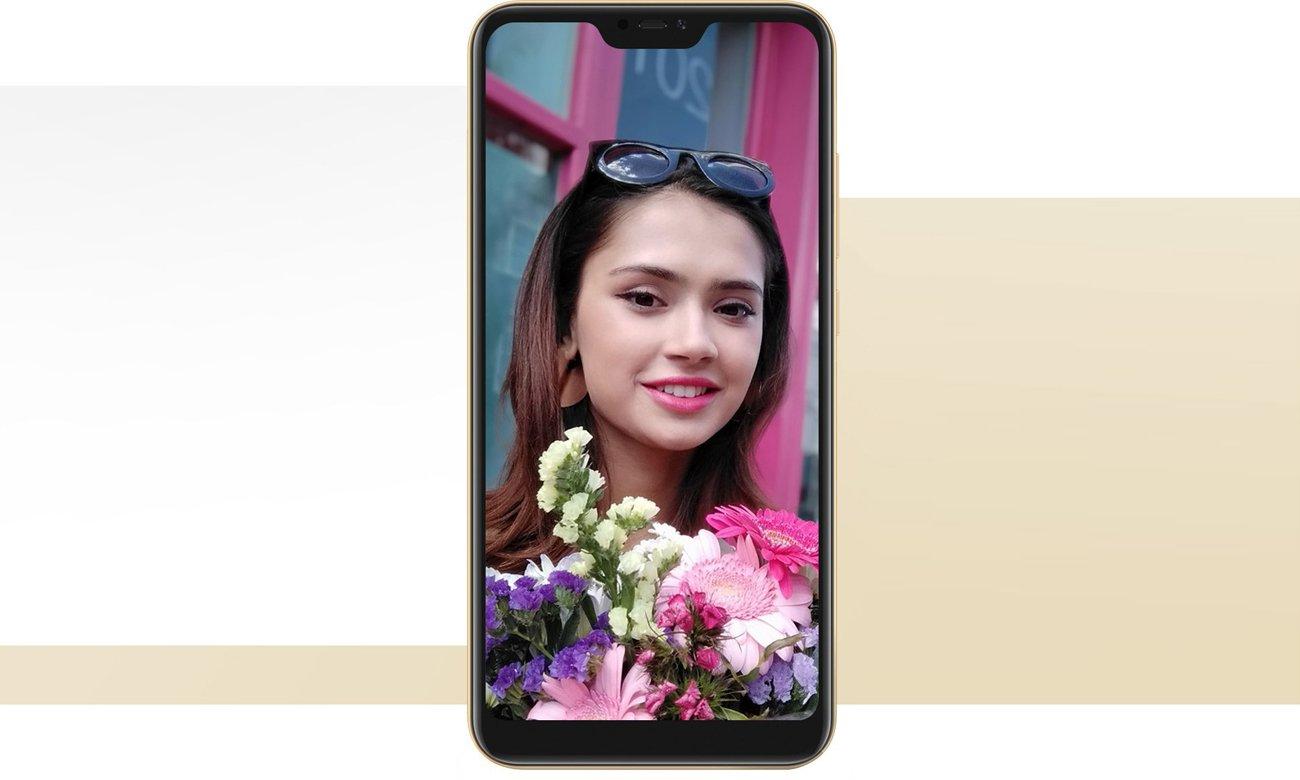 Xiaomi Mi A2 Lite selfie bokeh beautify