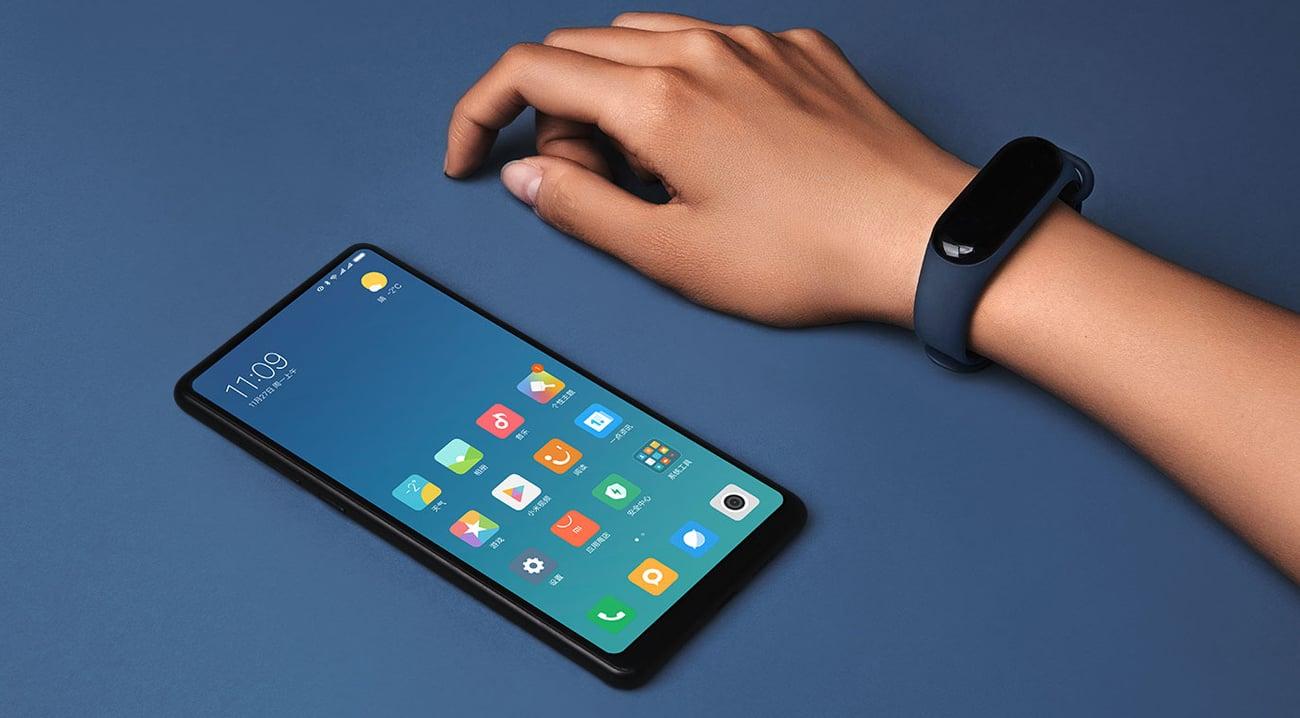 Xiaomi Mi Band 3 odbieranie powiadomień i połączeń odblokowanie ekranu