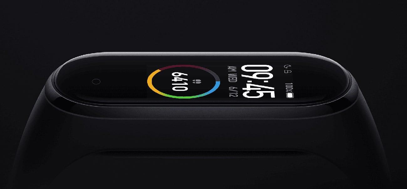 Xiaomi Mi Band 4 kolorowy ekran AMOLED
