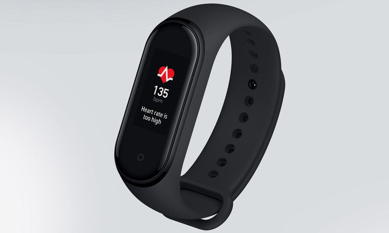Xiaomi Mi Band 4 czujnik tętna, asystent treningu
