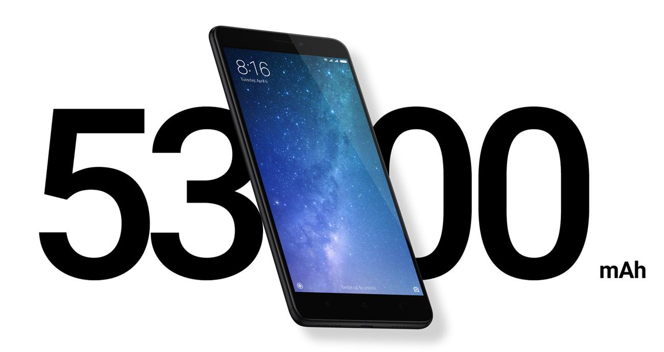 Xiaomi Mi Max 2 bateria 5300 mah