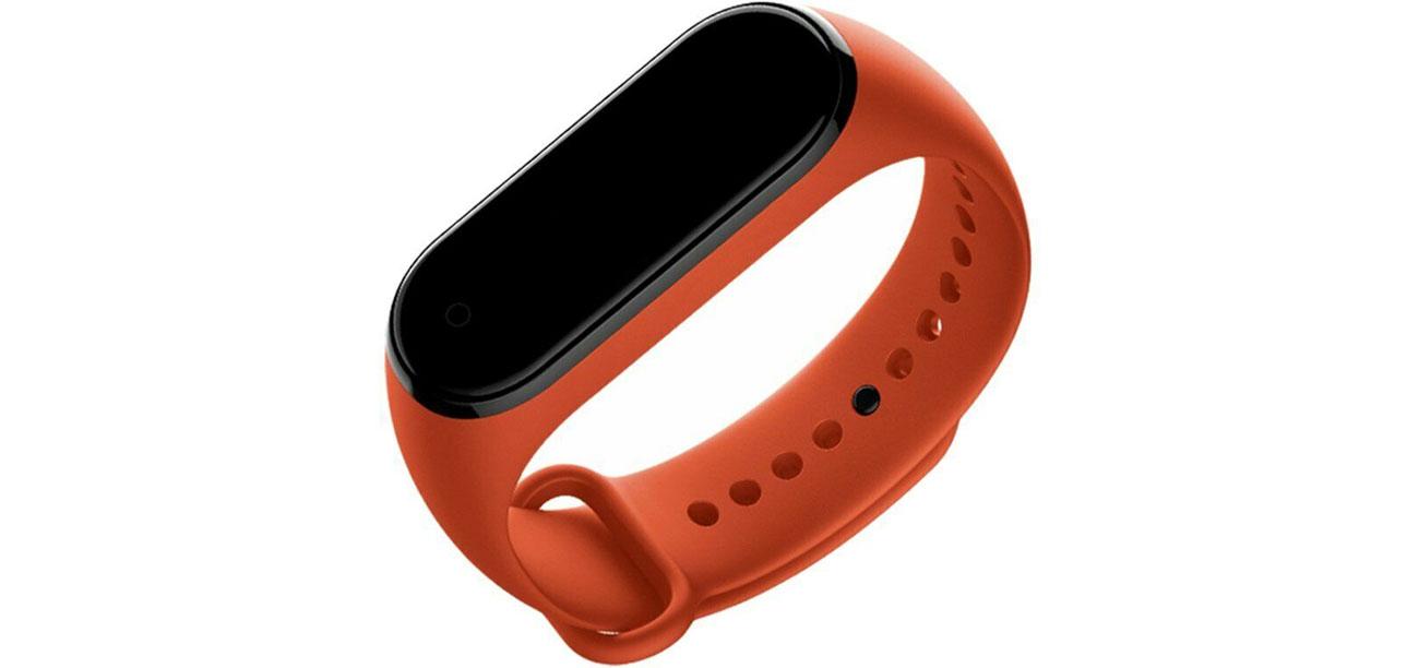 Opaska do Xiaomi Mi Band 3/4 pomarańczowy 6934177710254