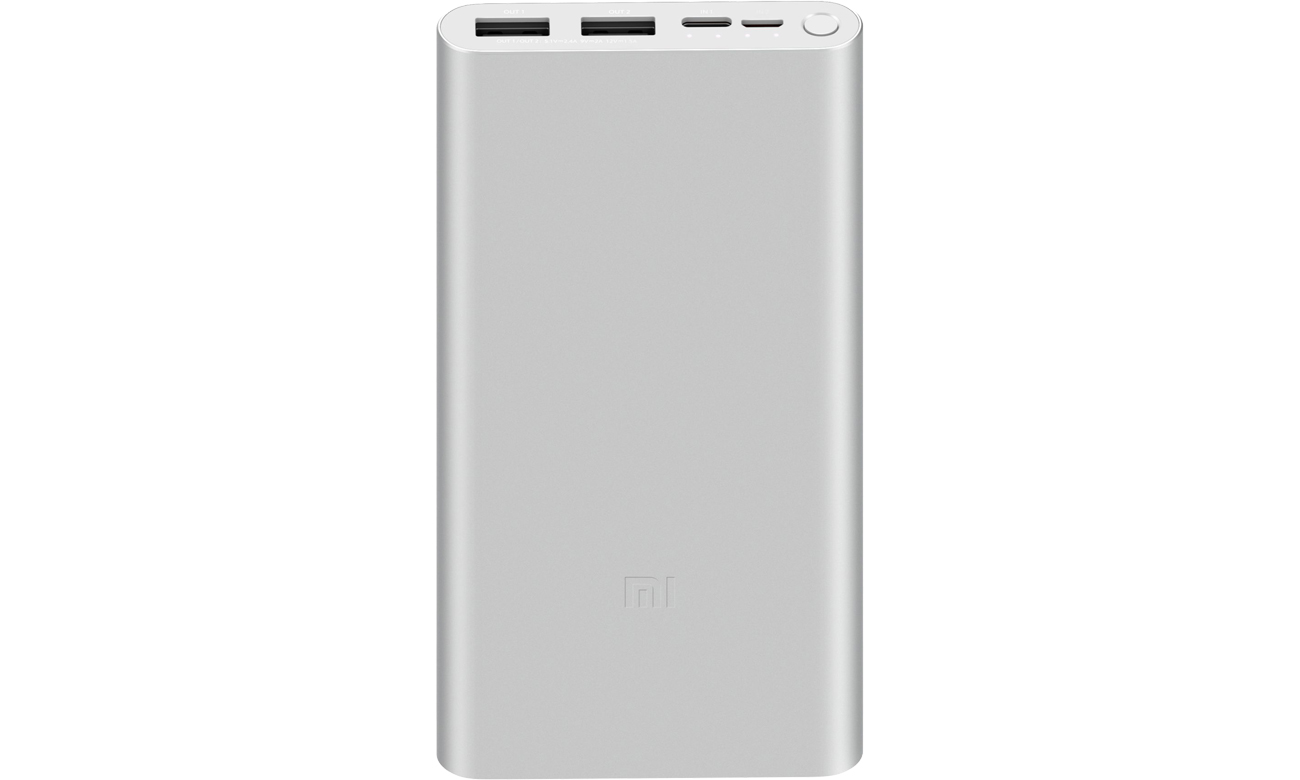 Power Bank Xiaomi Mi 18W 10000 mah (srebrny)
