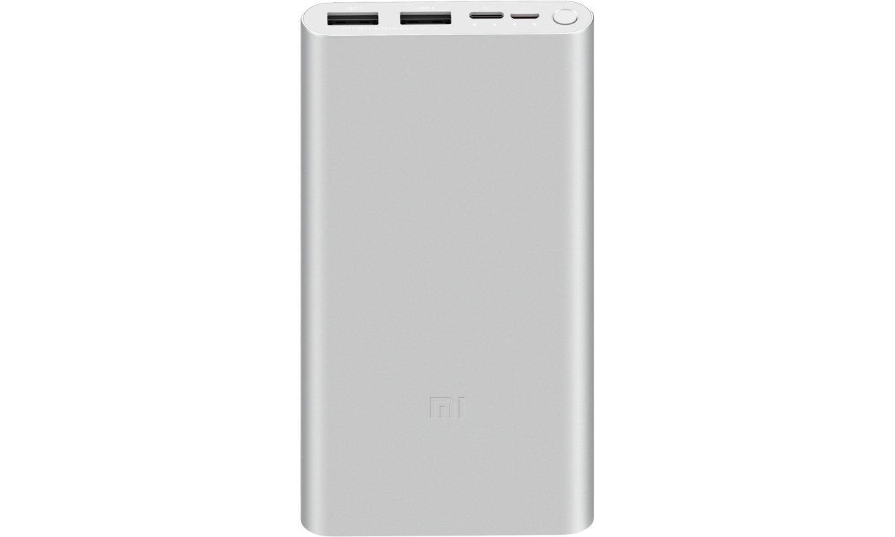 Power Bank Xiaomi Mi 18W 10000 mah (srebrny)
