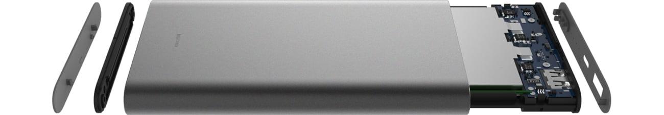 Xiaomi Power Bank Pro 10000 mAh Wydajne ogniwa