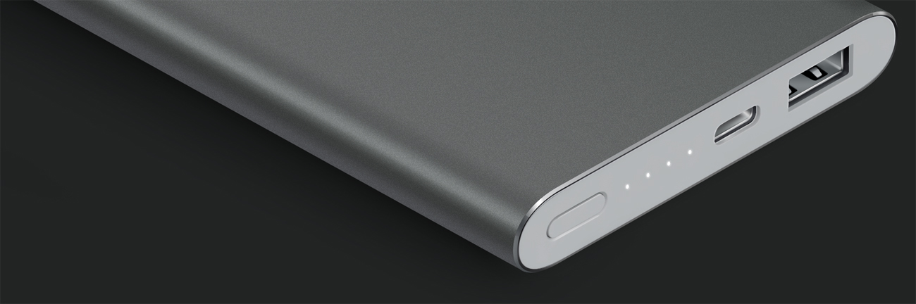 Xiaomi Power Bank Pro 10000 mAh Aluminiowa obudowa