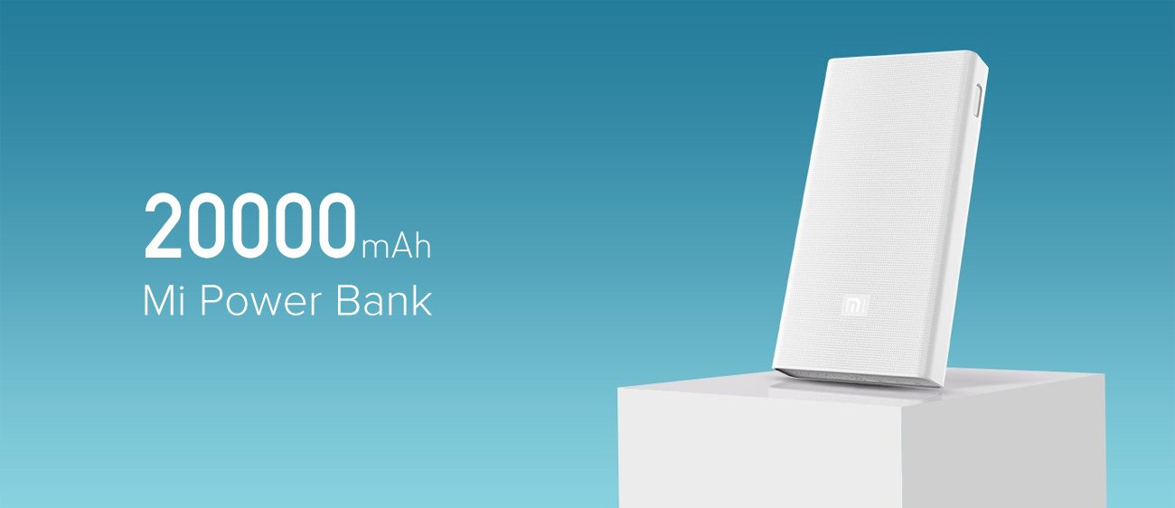 Xiaomi Power Bank 20000 mAh biały VXN4150GL