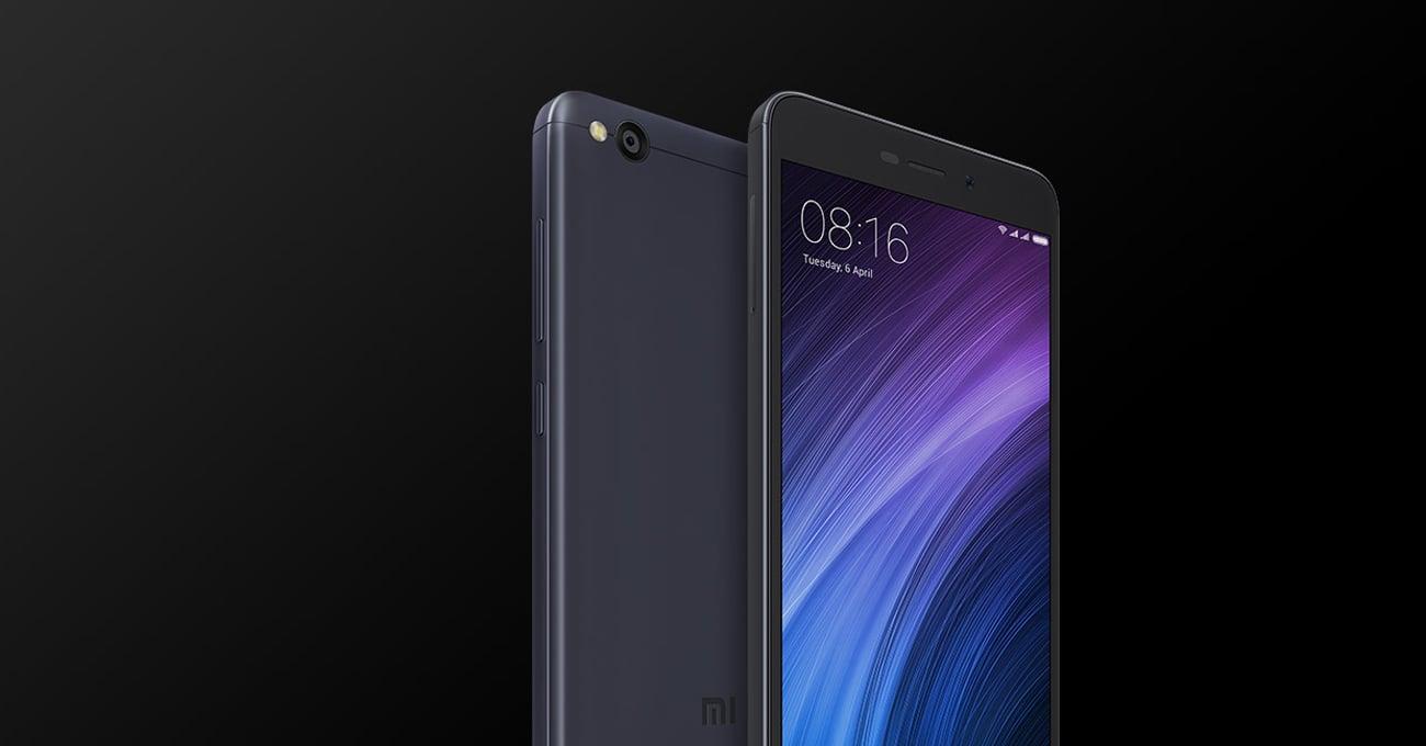 Xiaomi Redmi 4A 32GB smukła metalowa konstrukcja w kolorze ciemnej szarości