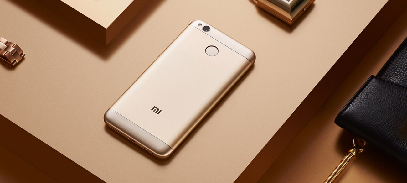 Xiaomi Redmi 4X Gold bateria 4100 mAh