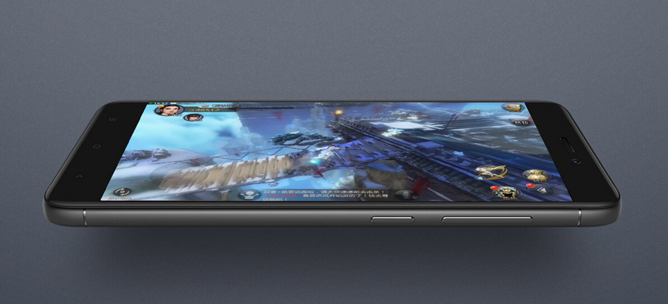 Xiaomi Redmi 4X ekran 2.5D aluminiowa ramka
