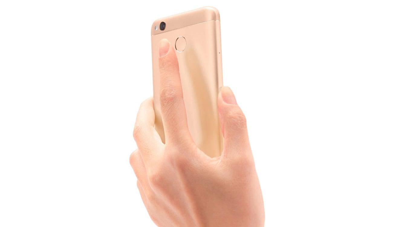 Xiaomi Redmi 4X czytnik linii papilarnych