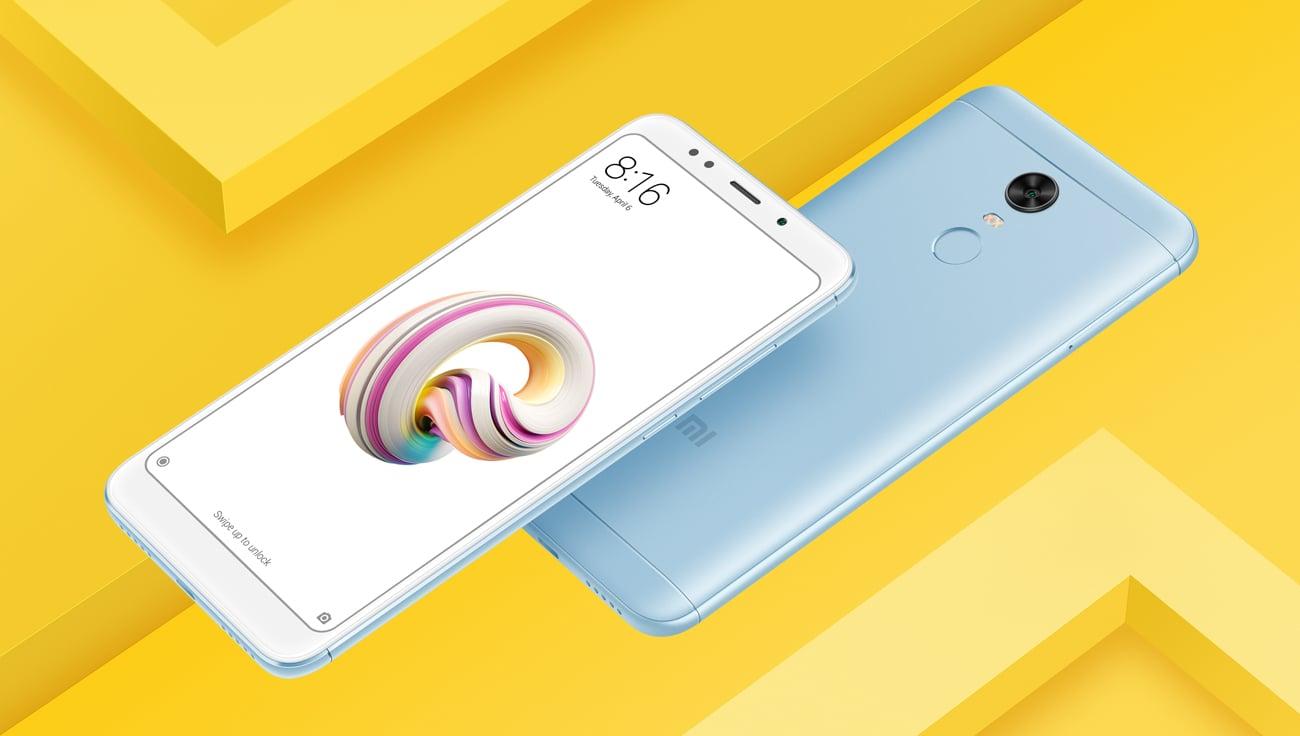 niebieski Xiaomi Redmi 5 Plus aluminowa konstrukcja
