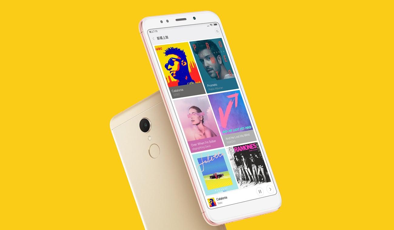 Xiaomi Redmi 5 Plus bateria 4000 mAh