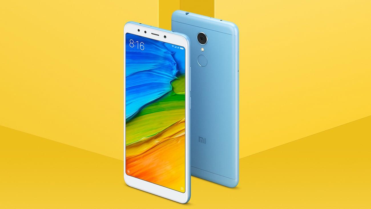 Xiaomi Redmi 5 android 7.1 nougat miui 9