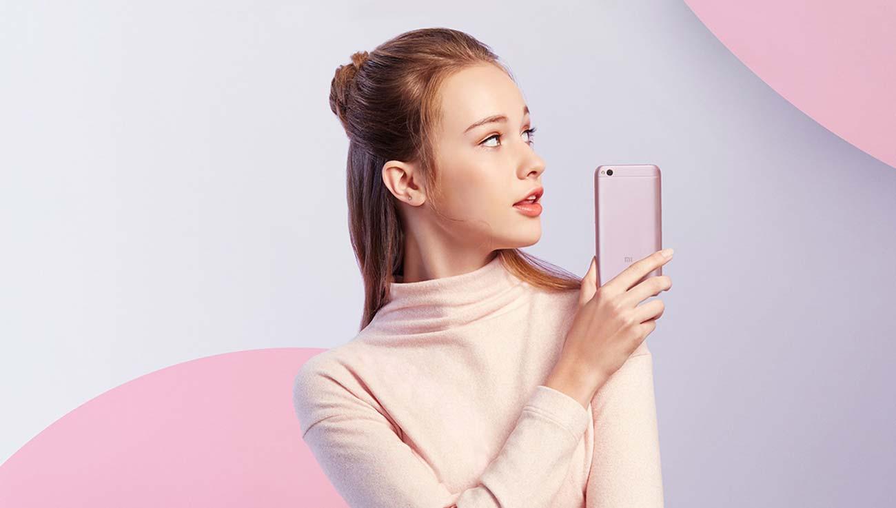 Szary Xiaomi Redmi 5A miui 9
