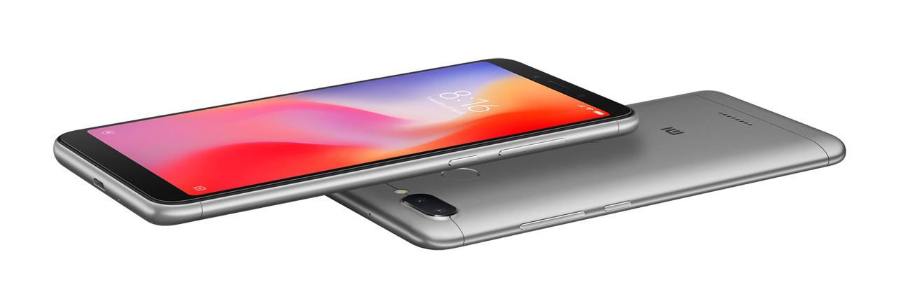 Xiaomi Redmi 6 smukła elegancka obudowa