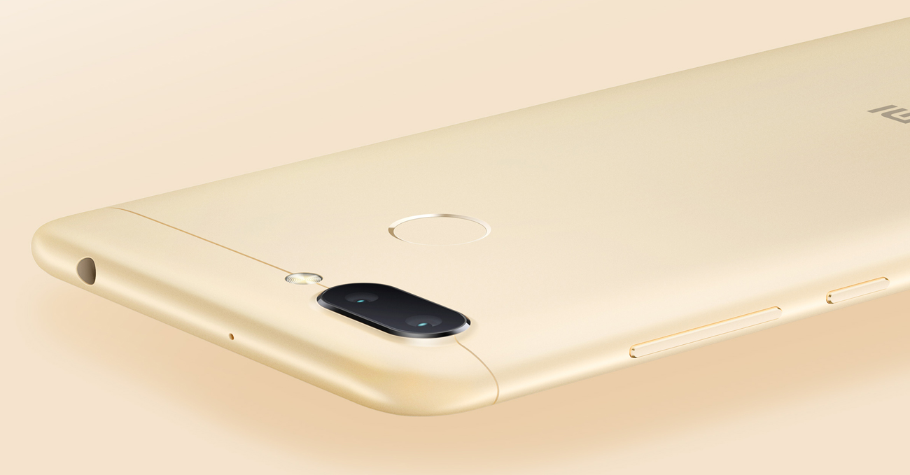 Xiaomi Redmi 6 aparat 12+5 mpix z AI