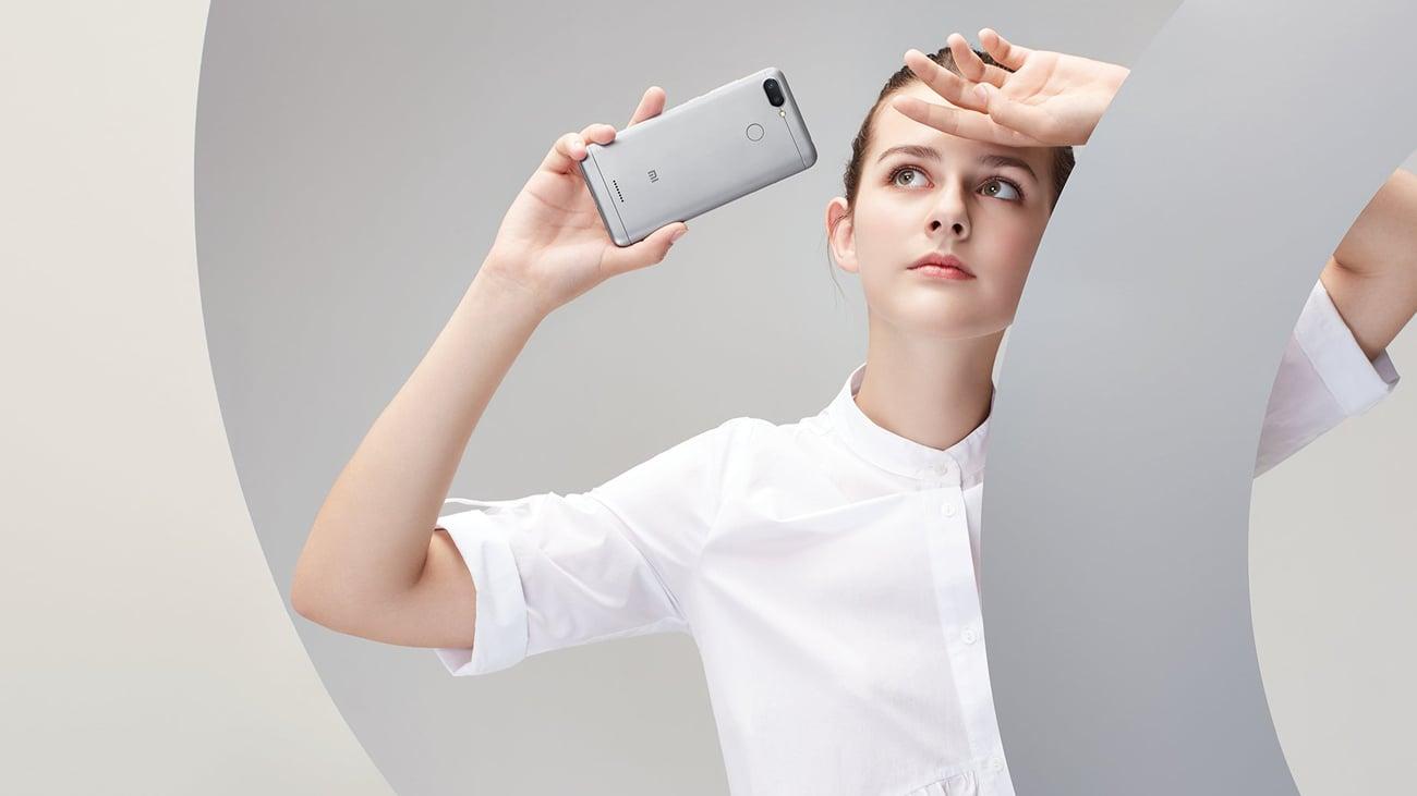 Xiaomi Redmi 6 czytnik linii papilarnych face unlock