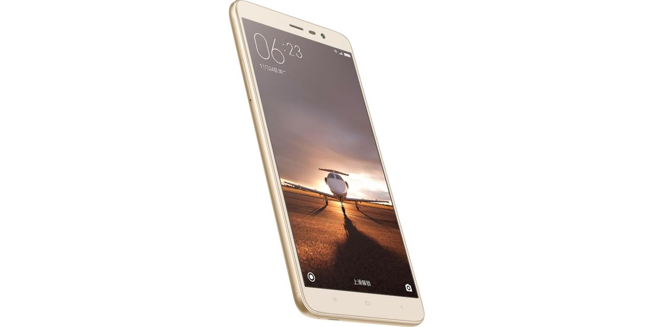 Xiaomi Redmi Note 3 16GB Gustowna sylwetka z metalu w kolorze złota Gold