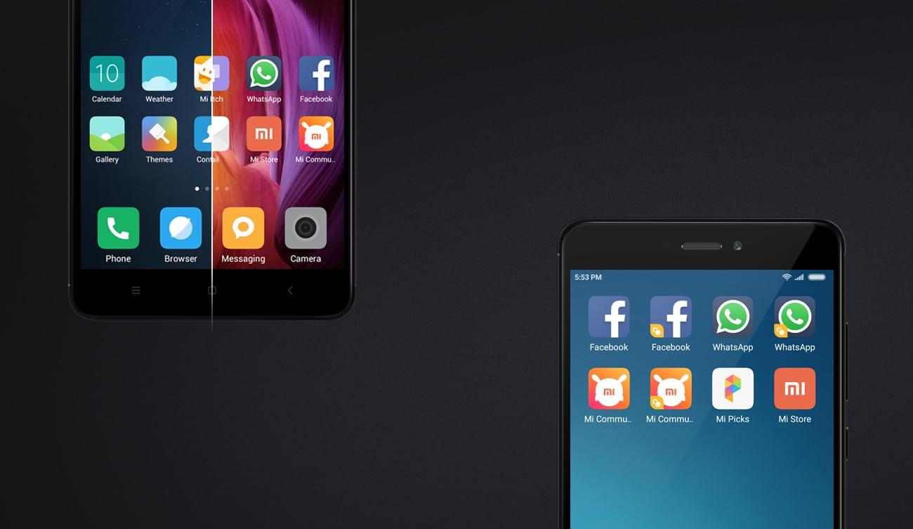 Xiaomi Redmi Note 4 32GB nakładka MIUI 8.0