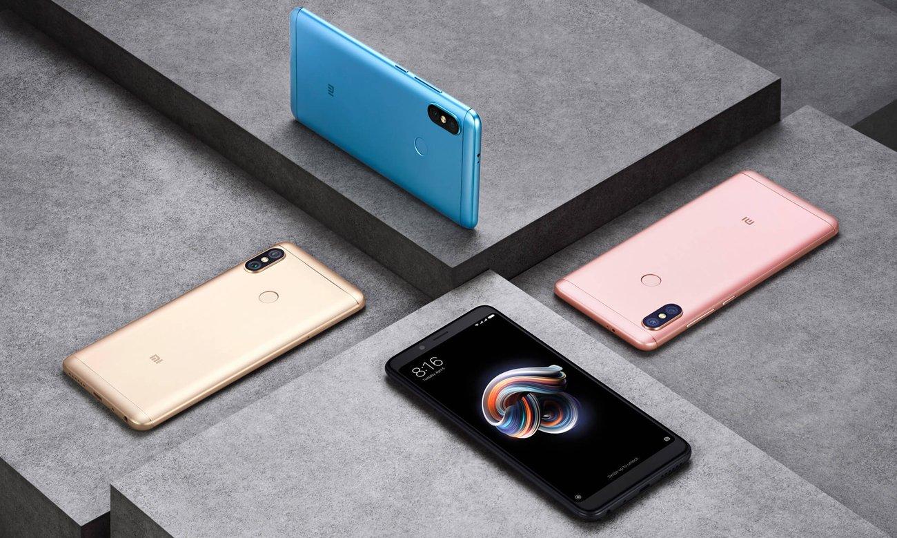 Xiaomi Redmi Note 5 bateria 4000 mAh