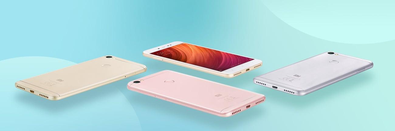 szary Xiaomi Redmi Note 5A Prime smukła obudowa