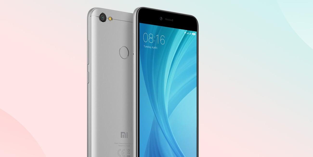 Xiaomi Redmi Note 5A Prime czytnik linii papilarnych