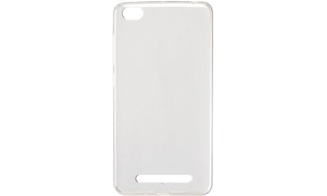 Etui Xiaomi Soft Case do Redmi 4a Clear 6954176835475